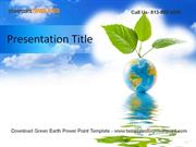 Green Earth Powerpoint Template
