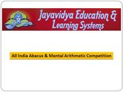 All India Abacus Competition 2016