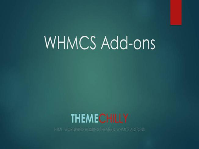 Premium WHMCS Add Ons & Modules for Hosting Companies