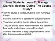 What Topics Are Included in Dialysis Technician Training?