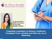 Dr. Divya Awasthi - Obs & Gynaecologist - Infertility Experts