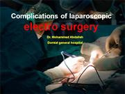 complication laparoscopic electrosurgery