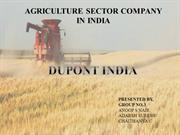 AGRICULTURAL SECTOR COMPANY  IN INDIA