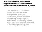 Virkaran Awasty, Virkaran Awasty Sports Management Company in Delhi