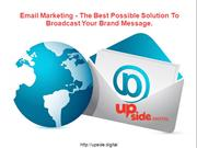 Email Marketing effective method of internet marketing.