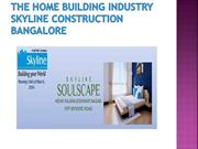 The-home-building-industry-Skyline-construction-Bangalore
