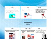 Timeline of Dominican Republic 1822-1966