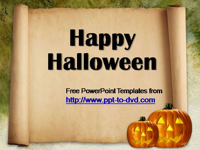free halloween powerpoint templates authorstream