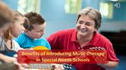 Benefits Of Music Therapy In Special Need Schools