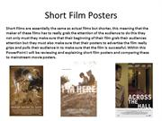 Short Film Posters