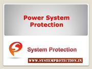 Power system Protection and Control
