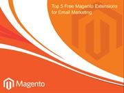Top 5 Free Magento Extensions for Email Marketing