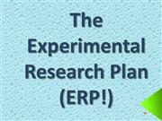 Experimental Research Plan Completion