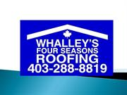 Roof Repair Contractors Calgary- Best Roofing Company