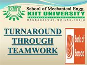 TURNAROUND THROUGH TEAMWORK