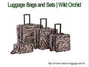 Luggage Bags and Sets | Wild Orchid