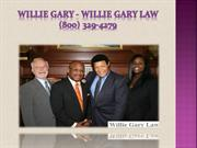 Willie Gary lawyer - Willie Gary Law   (800) 329-4279