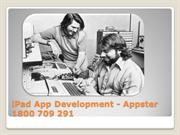 iPhone App Developers Sydney - Appster 1800 709 291
