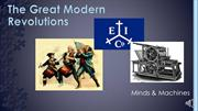 102_The Great Modern Revolutions (Week 3) RECORDING