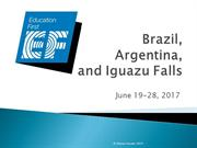 2017 Brazil and Argentina slide show