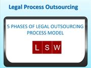 Legal Support World- Phases Of Legal Process Outsourcing