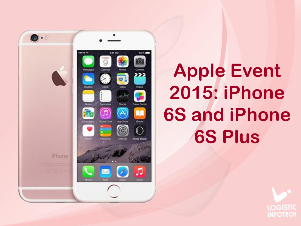 apple event 2015  iphone 6s and iphone 6s plus