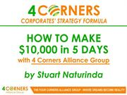 Four Corners Corporates' Strategy Formula