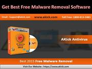 Get Best Free Malware Removal Software