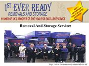 1st ever ready removals - Removals Company