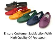 Ensure customer satisfaction with high quality of footwear
