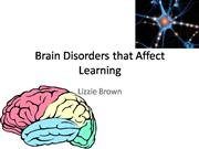 Brain Disorders that Affect Learning