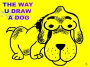 how to DRAW a dog DOG
