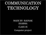 COMPUTER CHAPTER 3 PROJECT