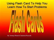 Use Flashcards to Study for a Math Test