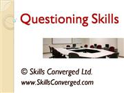 Questioning Skills Training Materials
