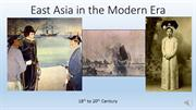 102_East Asia in the Modern Era (Week 4) RECORDING