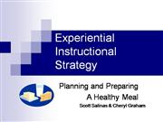 Experiential Instructional Strategy