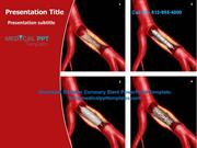 Coronary Stent PowerPoint Template