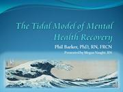 The Tidal Model of Mental Health Recovery