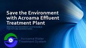 Effluent Treatment Plant Manufacturer in Chennai