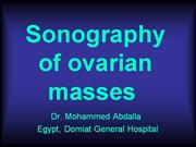 Sonography-ovarian-masses