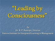 Leading by Consciousness _KeyNote