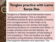 Tonglen practice with Lama Surya Das