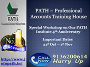 Accounts Training Institute in Delhi