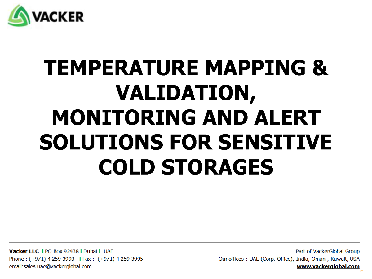 temperature mapping  u0026 validation  monitoring and alert solutions