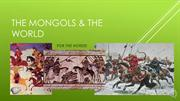 101_The Mongols & The World (Week 11) RECORDING