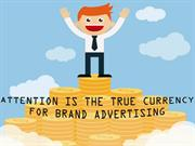 Attention is The True Currency For Brand Advertising Presentation