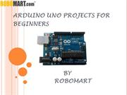 arduino uno projects for beginners by robomart