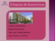 Residential Project In Pune - R Euphoria By Runwal Group