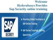 Best SAP SECURITY online training in UK |SAP SECURITY online classes